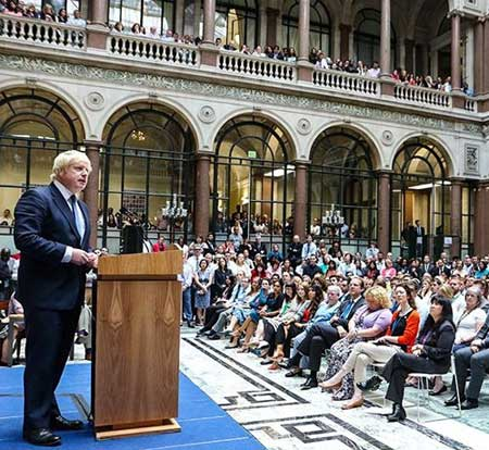boris johnson ministru externe uk
