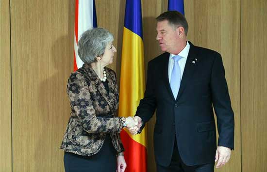intalnire bruxelles iohannis may