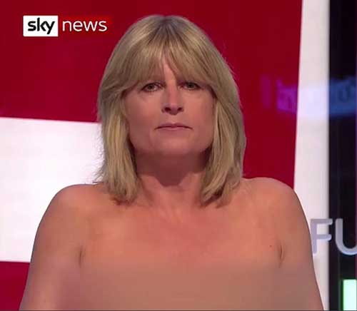 Rachel Johnson protest antibrexit
